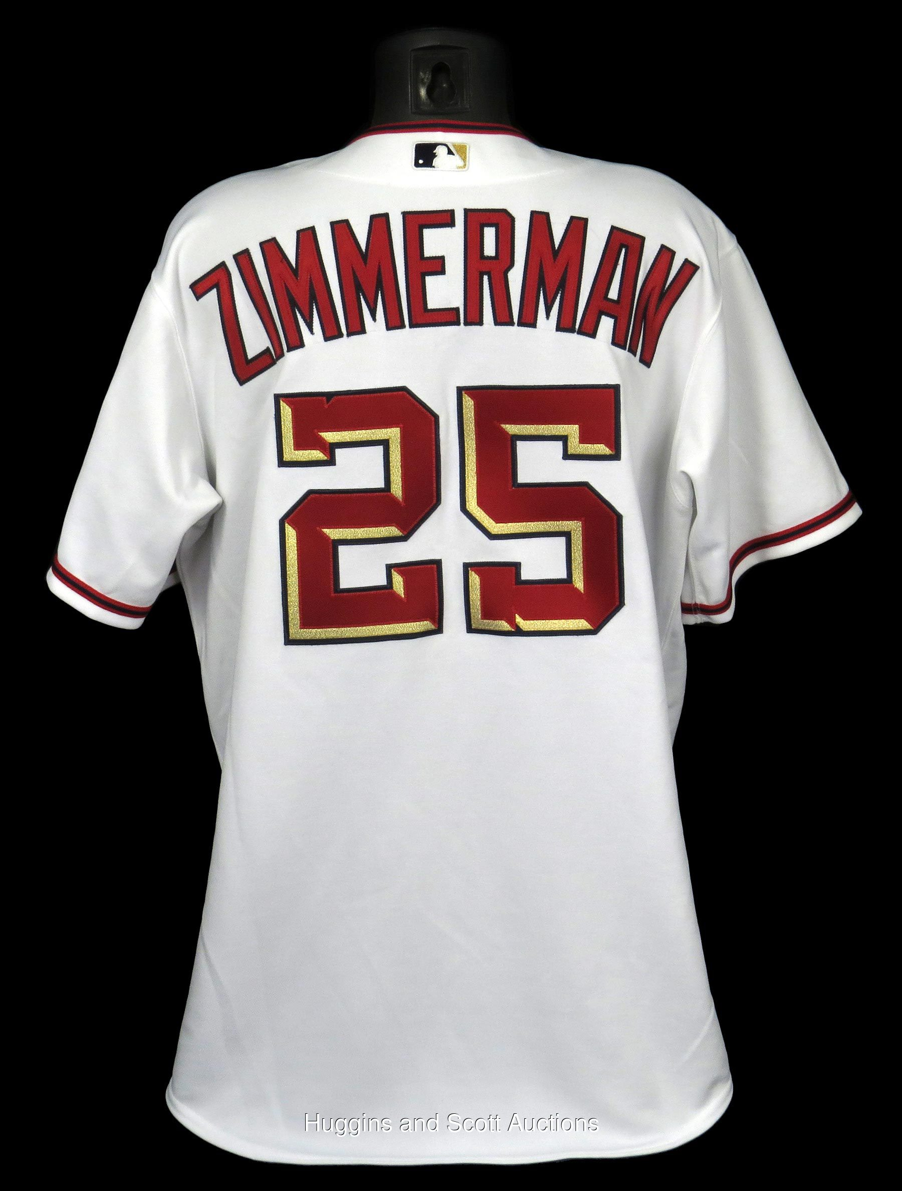 outlet store bf93f 87712 Inaugural Year 2005 Ryan Zimmerman Game-Used Washington ...